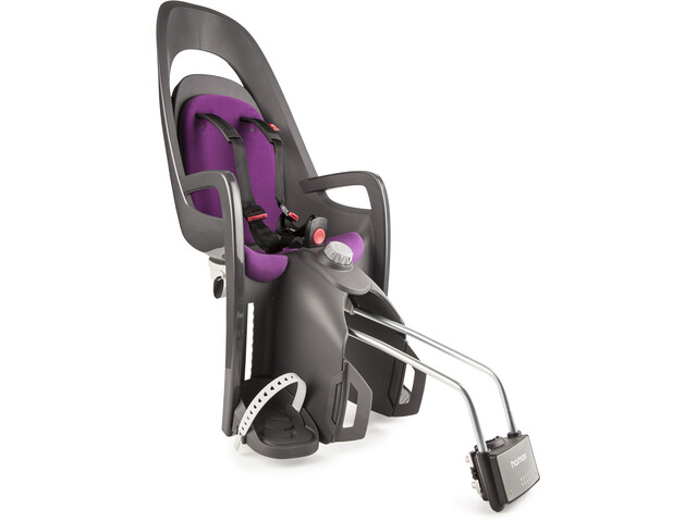 Hamax Caress Siège enfant, grey/purple